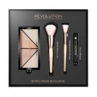 Makeup Revolution - Set regalo HD Pro Strobe Revolution