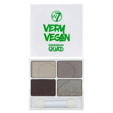 W7 - *Very Vegan* - Paleta de sombra de ojos Quad - Warm Winter