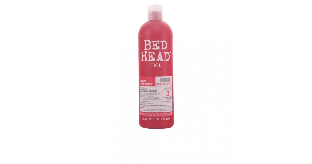 TIGI - BED HEAD urban anti-dotes resurrection acondicionador revitalizante e hidratante 750 ml