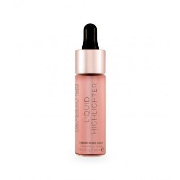 Makeup Revolution - Iluminador líquido - Rose Gold