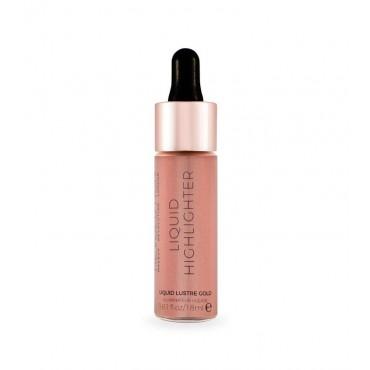 Makeup Revolution - Iluminador líquido - Lustre Gold