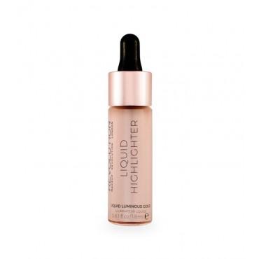 Makeup Revolution - Iluminador líquido - Luminous Gold