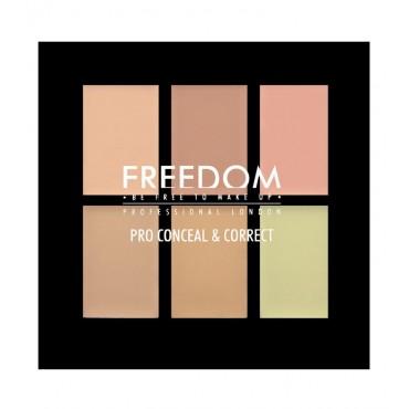 ProArtist Freedom - Paleta de Correctores - Light