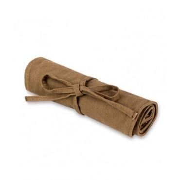 Bdellium - Set 15 brochas Green Bambu con manta enrrollable