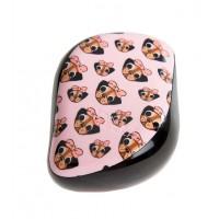 Tangle Teezer Compacto - Cepillo especial para desenredar - Pug Love
