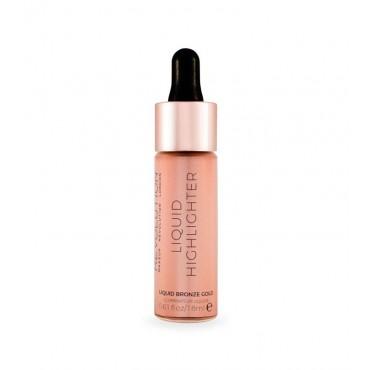 Makeup Revolution - Iluminador líquido - Bronze Gold