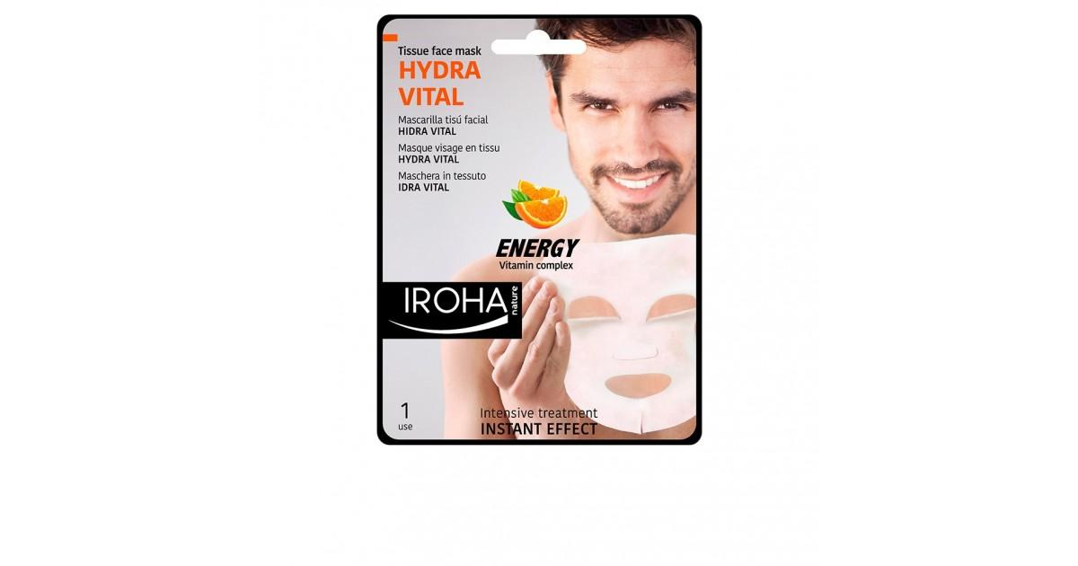 men tissue mask hydra vital vitamin c