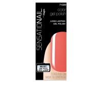 sensationail gel color coral sunset 739 ml
