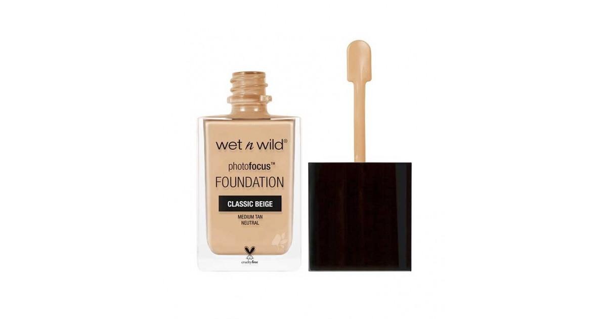 Wet N Wild - Base de maquillaje Photo Focus - E371C: Classic Beige