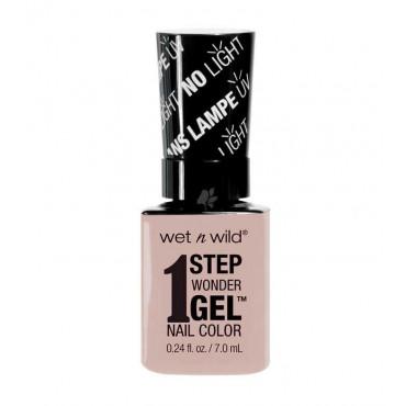 Wet N Wild - Esmalte de uñas 1 Step Wonder Gel - E705A: Peach For The Stars