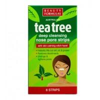 Beauty Formulas - Tiras Limpiadoras de Poros Tea Tree