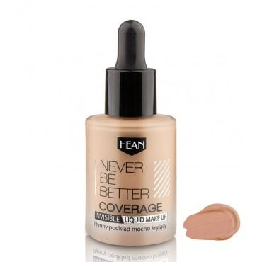 Hean - Base de maquillaje Never Be Better - 104: Chana Beige