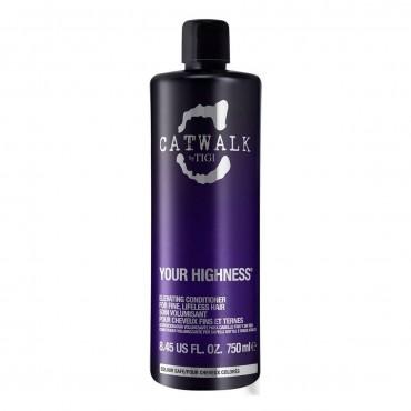 TIGI - CATWALK your highness elevating acondicionador nutritivo voluminizador 750 ml