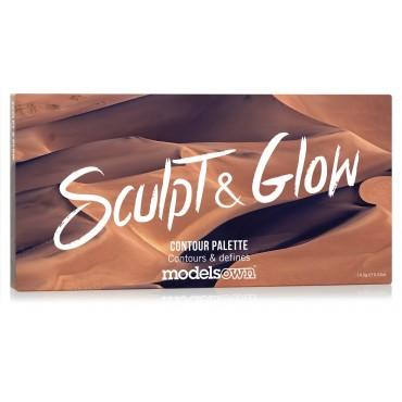 Models Own - Paleta Sculpt & Glow Contour - 01: Fair to Light
