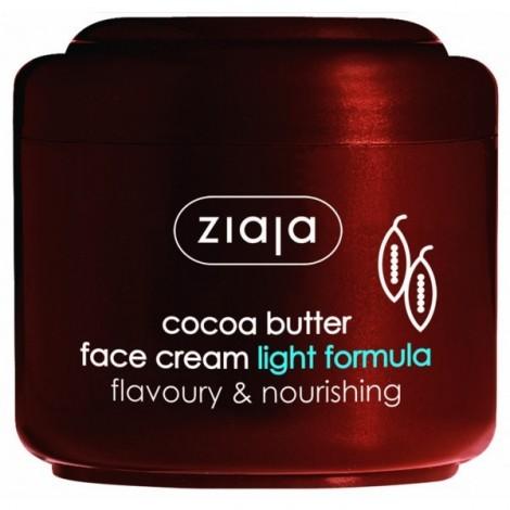 Ziaja - Manteca de Cacao - Crema Facial de Fórmula Ligera