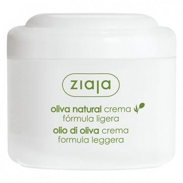 Ziaja - Crema Facial de Oliva Natural Fórmula Ligera
