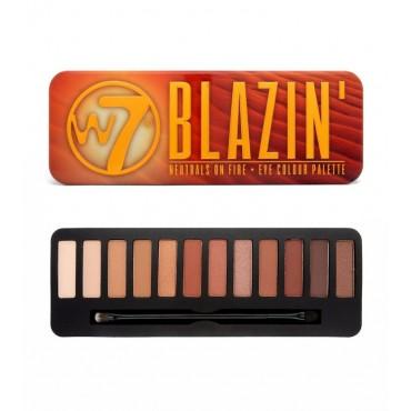 W7 - Paleta de sombras de ojos Blazin'