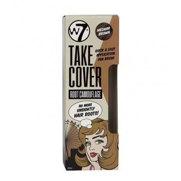 W7 - Retoca Raíces Take Cover - Medium Brown