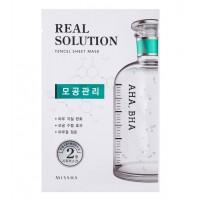 Missha - Mascarilla Real Solution - AHA, BHA