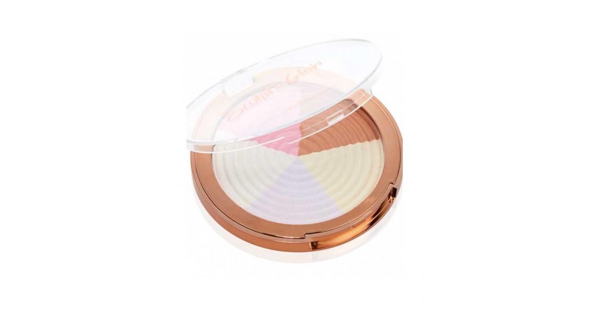 Models Own - Polvos iluminadores compactos Sculpt & Glow - 09: Strobe Light