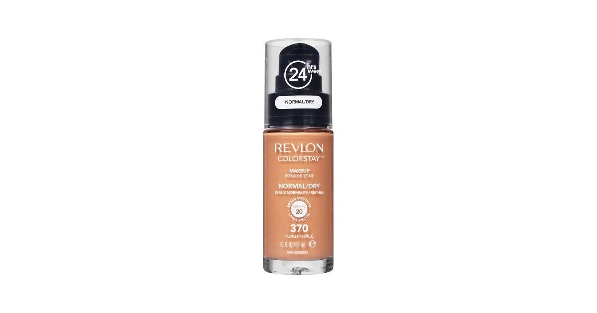 Revlon - Base de Maquillaje fluida ColorStay para piel Normal/Seca - 370 Toast