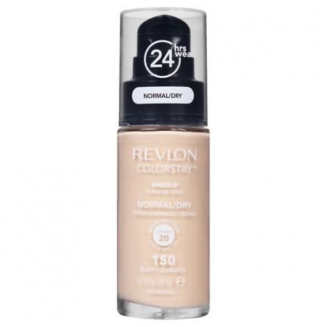Revlon - Base de Maquillaje fluida ColorStay para piel Normal/Seca SPF20 - 150: Buff
