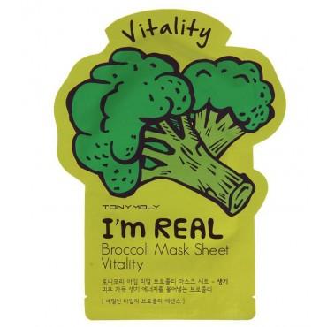 Tonymoly - Mascarilla I'm Real - Broccoli