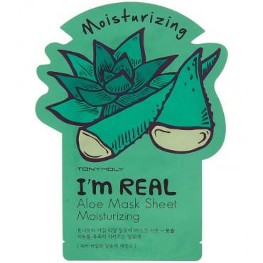 Tonymoly - Mascarilla I'm Real - Aloe