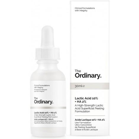 The Ordinary - Acido Láctico 10% + Acido Hialurónico 2%