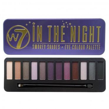 W7 - Paleta de sombras - In the Night