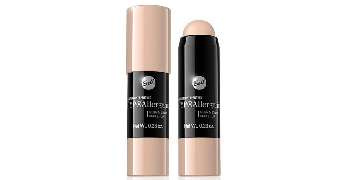 Bell - Base de maquillaje en stick hipoalergénico - 02: Rose Natural