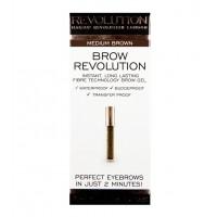 Makeup Revolution - Gel para cejas Brow Revolution - Medium Brown