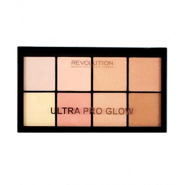 Makeup Revolution - Paleta Iluminadores Ultra Pro Glow