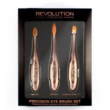 Makeup Revolution - Set de Brochas Precision Eye
