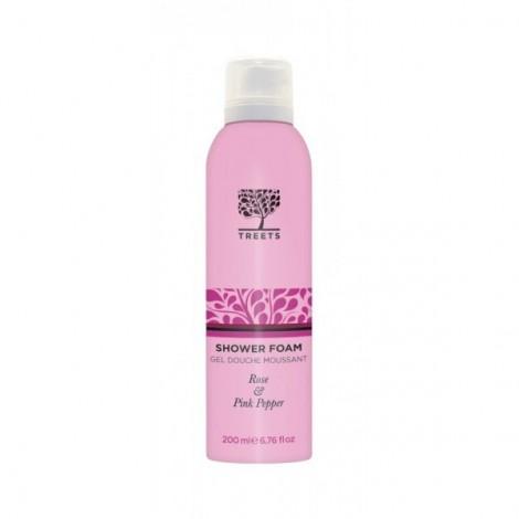 Treets - Rose & Pink Pepper - Espuma de ducha