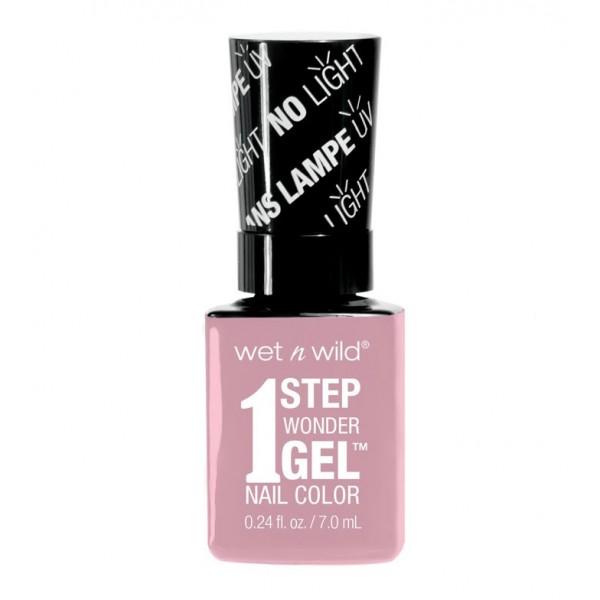 Wet N Wild - Esmalte de uñas 1 Step Wonder Gel - E7211: Pinky Swear ...
