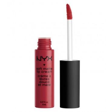 NYX Professional Makeup - Labial Líquido Soft Matte - SMLC25: Budapest