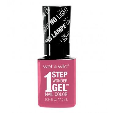 Wet N Wild - Esmalte de uñas 1 Step Wonder Gel - E7222: Missy in Pink