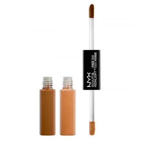 NYX Professional Makeup - Sculpt & Highlight Dúo de Contorno - SHFD05: Chestnut/Sand