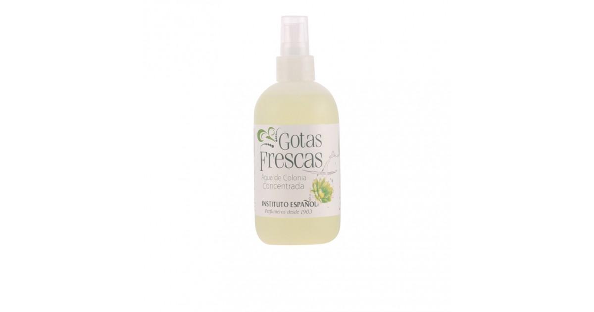gotas frescas eau de cologne vaporizador 250 ml