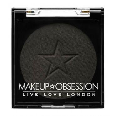 Makeup Obsession - Sombra de ojos - E126: Midnight Black