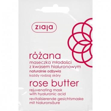 Ziaja - Mascarilla Facial Rejuvenecedora de Rosa Mosqueta