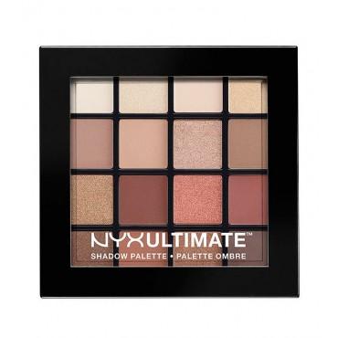 NYX Professional Makeup - Paleta de sombras Ultimate - USP03: Warm Neutrals