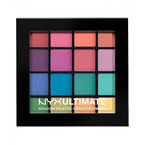 NYX Professional Makeup - Paleta de sombras Ultimate - USP04: Brights