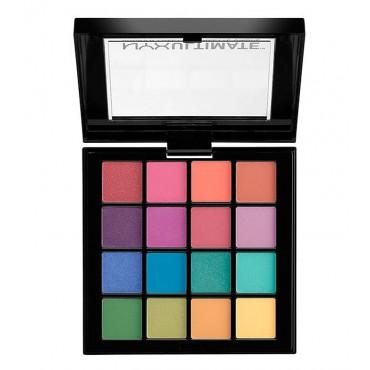 NYX - Paleta de sombras Ultimate - USP04: Brights
