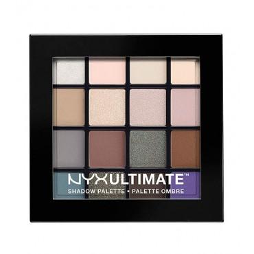 NYX - Paleta de sombras Ultimate - USP02: Cool Neutrals
