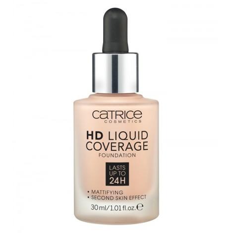 Catrice - Base de maquillaje HD Liquid Coverage: 010 Light Beige