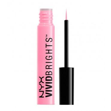 NYX Professional Makeup - Eyeliner Líquido Vivid Brights - VBL06: Vivid Petal