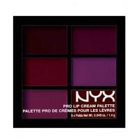 NYX - Paleta de labiales Pro Lip Cream - PLCP04: The Plums