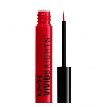 NYX Professional Makeup - Eyeliner Líquido Vivid Brights - VBL01: Vivid Fire